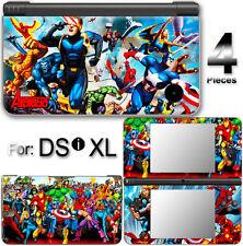 Captain America Spider Man Iron Man Avengers Cool SKIN STICKER COVER For DSi XL