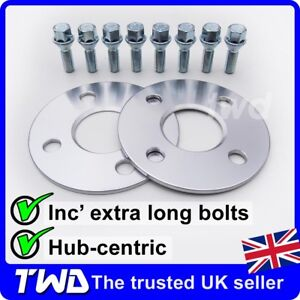 5MM-ALLOY-WHEEL-SPACERS-BOLTS-FOR-MINI-R50-R52-R53-4X100-PCD-56-1MM-2E8H31