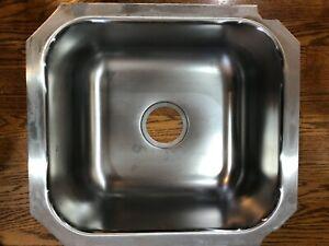 ELKAY Under Mount Stainless Steel Sink 51934553-1,  T301