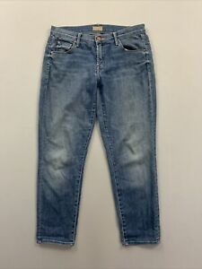 Mother-Women-039-s-Blue-Skinny-Fit-Jeans-Size-28