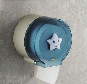 New cute bathroom waterproof toilet roll paper holder abs plastic paper box rack ebay - Scented toilet paper roll holder ...