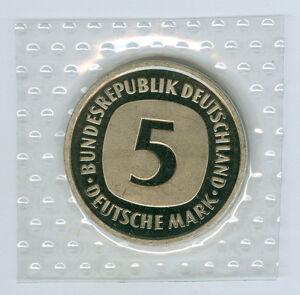 BRD-5-DM-stempelglanz-oBH-Waehlen-Sie-unter-1975-1990-und-DFGJ