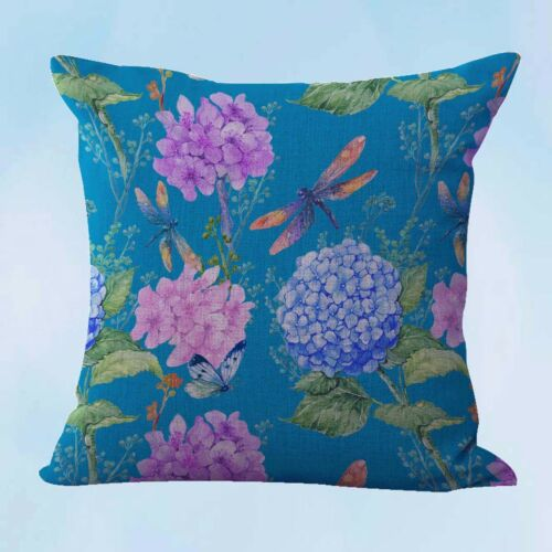 4pcs home accessories and decor cushion covers hummingbird flower US Seller