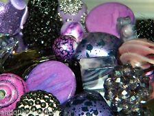 NEW RANDOM PICK 25/pc Jesse James mixed Beads Purple/blacks *SPECIAL*