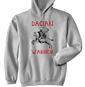gris à sweat Nouveau Warrior capuche Dacian coton wq7PvXRXx