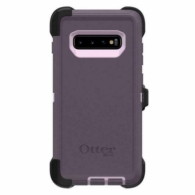 CASE ONLY Does Not Include Belt Clip Holster OtterBox Defender Series SCREENLESS Edition Case for Galaxy S10+ - Black Non Retail Packaging