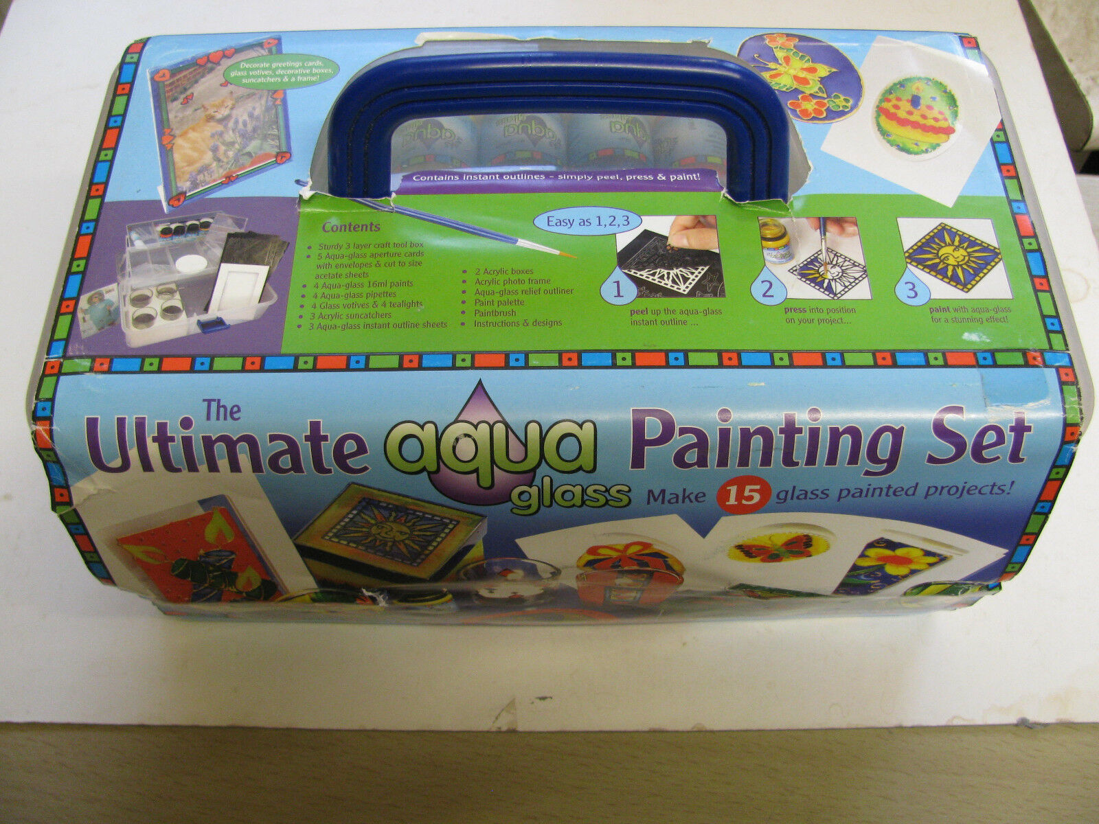 Craft Tool Box Sets Kits Various Designs Create Glass Painting Card Making