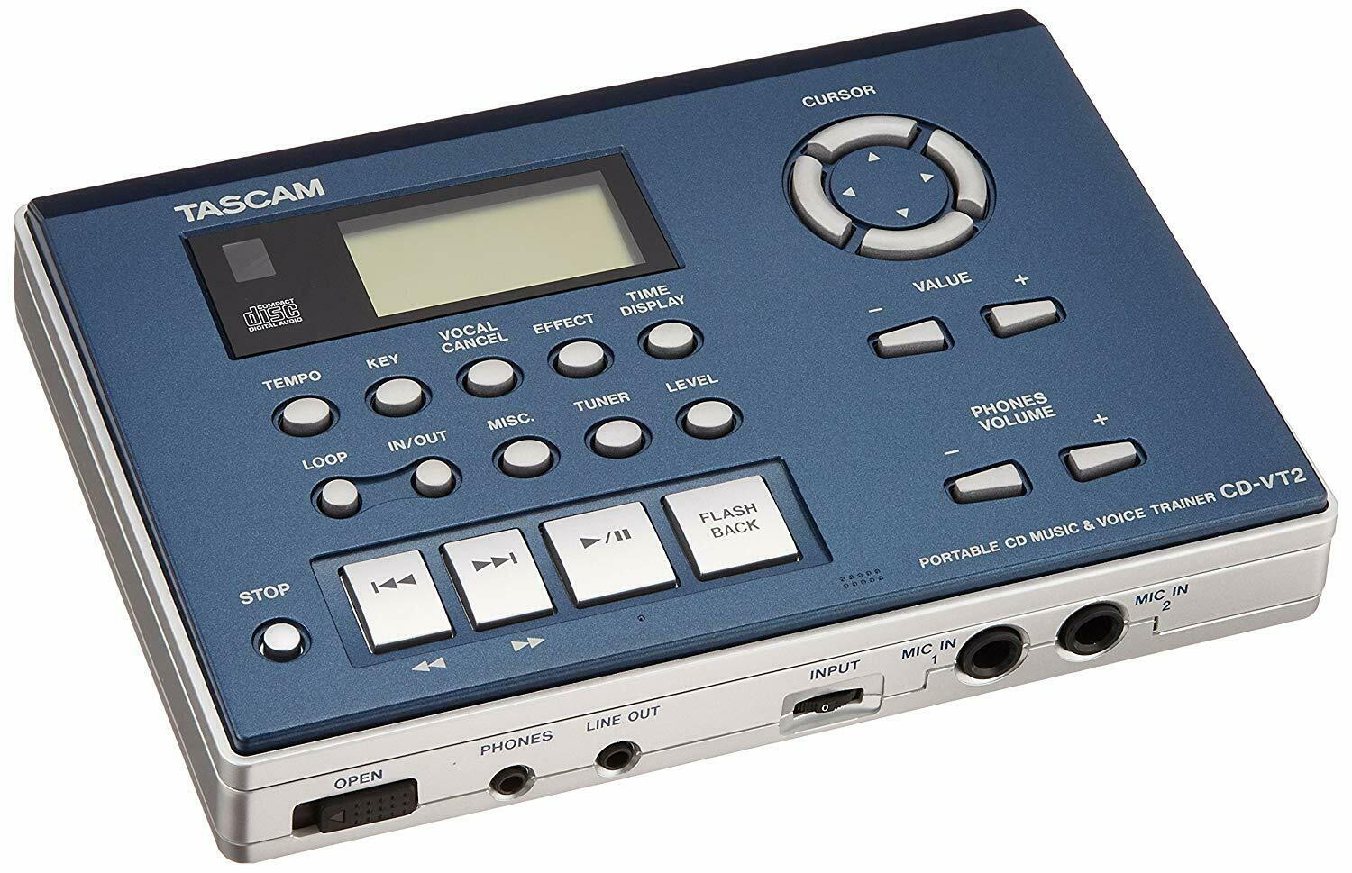 TASCAM CD trainer for vocals CD-VT 2 Japan NEW