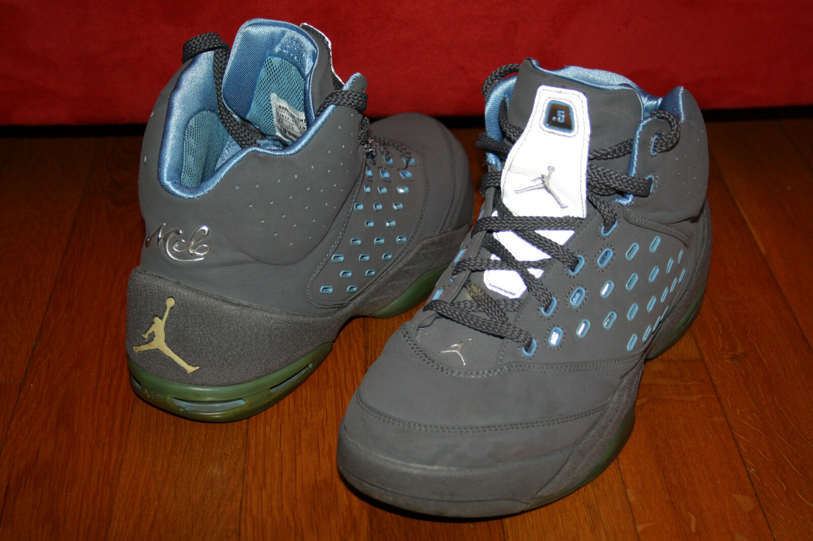 Air Jordan Melo 5.5 Denver Nuggets Gr. 42 US 8,5