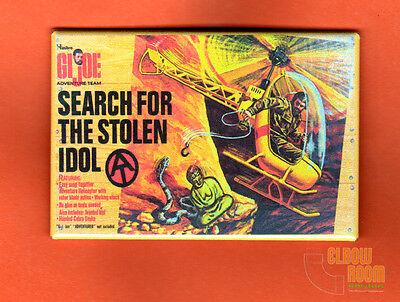 "GI Joe Search for the Stolen Idol 2x3/"" fridge//locker magnet box art Hasbro"