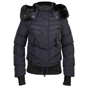 meet 34e0b d52d7 Details zu Wellensteyn Damen Winter Jacke Queens marine blau gesteppt QUE  382 midnightblue
