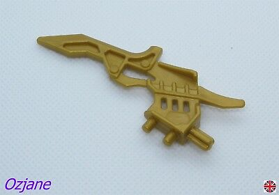 Knives Pearl Gold x 5 Weapon NEW LEGO 2 on Sprue sword