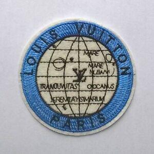 LOUIS-VUITTON-Stylized-PATCH-Globe-Vintage-Brand-New