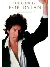 The Concise Bob Dylan Play Sara Like A Rolling Stone Hurricane Songs MUSIC BOOK