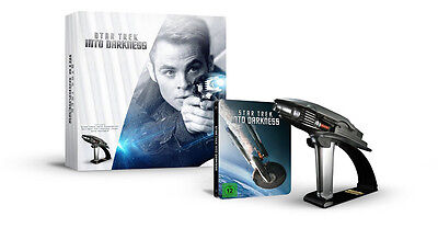 Star Trek Into Darkness Phaser Limited Edition Steelbook Box Set 3D Blu-ray NEW
