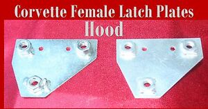 Corvette-Parts-1960-1961-1962-Female-Hood-Latch-Firewall-Reinforcement-plate