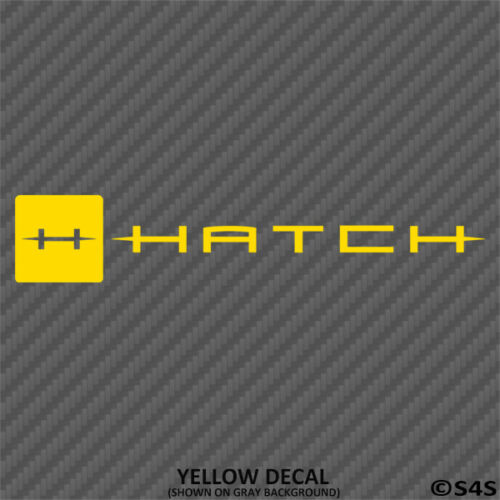 Choose Color Hatch Fly Fishing Reels Decal Outdoors Sports /& Hunting V2