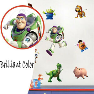 FULL-SET-Toy-Story-Bedroom-Vinyl-Wall-Art-Stickers-For-Children-Or-Adults