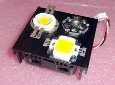 aktiv  - LED - Kühler 50mm x 53mm x 18mm / Lüfter 12V LED 3W 10W 50W 100W