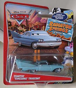DISNEY PIXAR CARS TIMOTHY TIMEZONE TRUECOAT RADIATOR SPRINGS ...