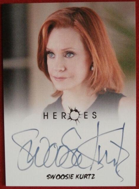 HEROES - SWOOSIE KURTZ, Millie Houston - Autograph Card - Rittenhouse 2010