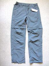 CONVERTIBILE Da Passeggio Trekking Escursionismo Pantaloni Cargo Pantaloni corti Taglia S-M Bnwts