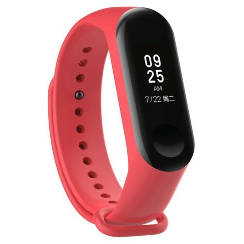 Neu Armband Ersatzband Uhrenarmband Silikon Wasserdichtes für Xiaomi Mi Band 3