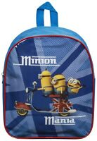 NEW DESPICABLE ME MINIONS JUNIOR SCHOOL BACKPACK KIDS RUCKSACK BOYS TRAVEL BAG
