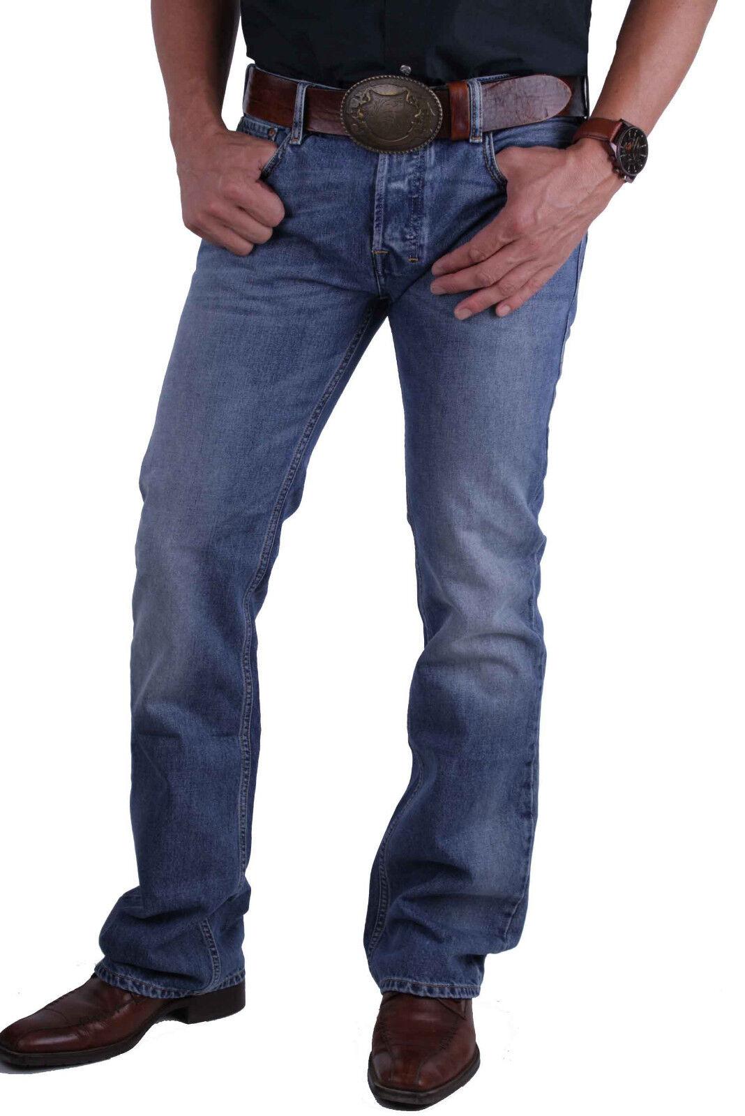 Diesel Zatiny 0800Z Herren Jeans Hose Hose Hose Regular Stiefelcut 24f3ea