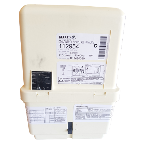 Breezair / Braemar Evaporative Cooler Icon Control Box CPMD DD2 #109930,112954