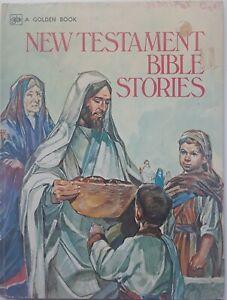 New Testament Bible Stories Golden Book 1975 Children Kids ...