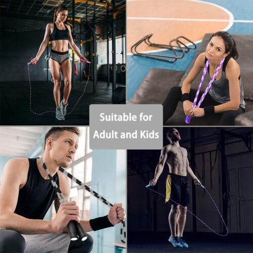 Ausrüstung für Fitness Seil überspringen Workout Fit halten Seile springen
