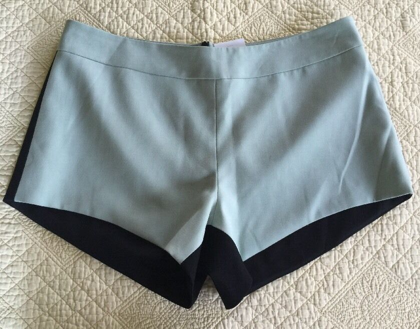 Mason Intermix Green Contrast Ladies Short Shorts Size 6