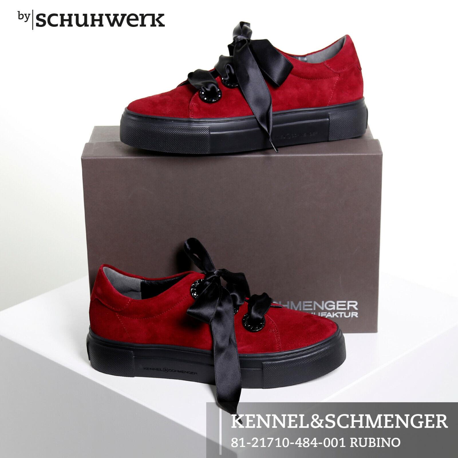 Kennel & Schmenger Damen Turnschuhe 81-21710-484 rubinrot