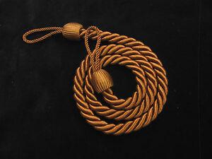 2-corda-tendine-fermatende-Marrone-snello-grazioso-drappo-cravatta-tenuta-dietro