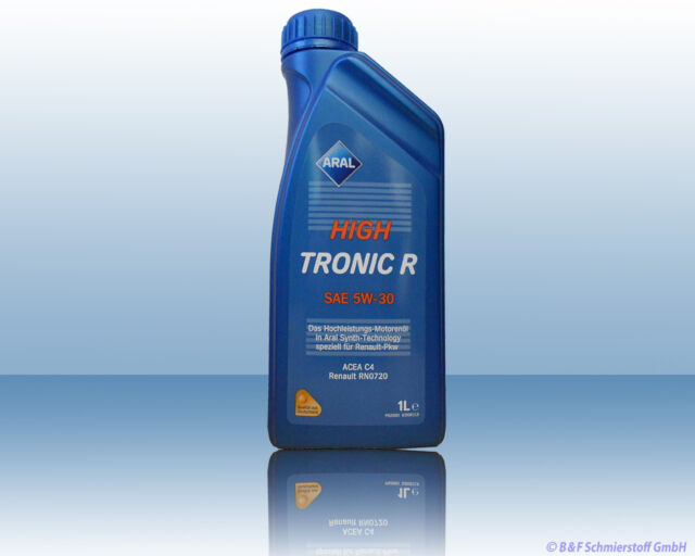 Aral High Tronic R 5W30 1 Litre Huile C4, Renault RN720
