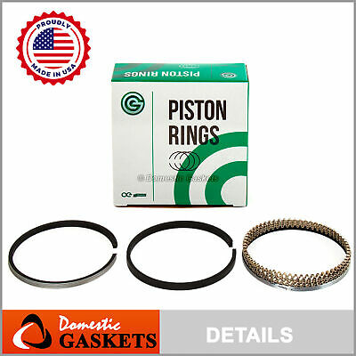 NPR Piston Rings Fit 02-11 Nissan Altima Frontier Suzuki Equator 2.5L QR25DE