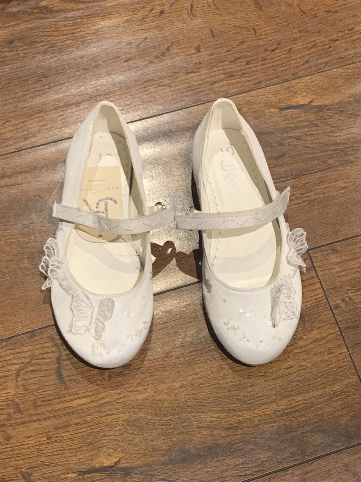 BHS Girls Mary Jane Occasion Party Bridesmaid Shoes - Size 10
