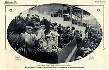 Kronprinzenpaar als Zuschauer im Sportpark Steglitz beim Radrennen in Berlin1907