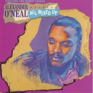 ALEXANDER-O-039-NEAL-all-mixed-up-CD-album-1989-house-funk-rhythm-amp-blues