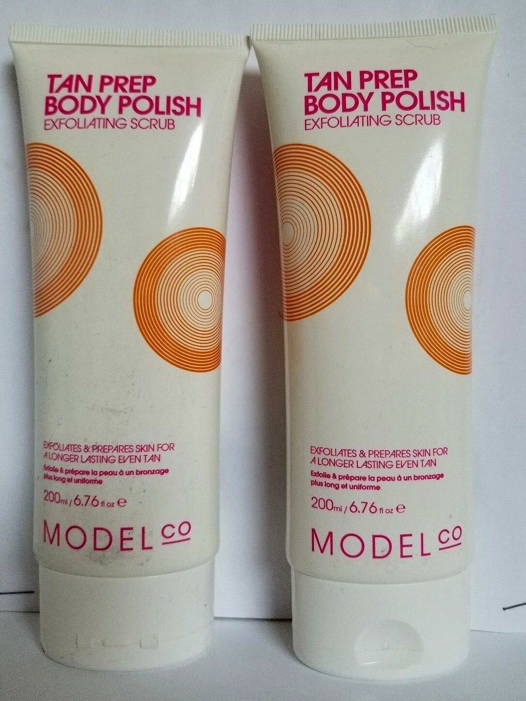 Lot Of 2 Model Co Tan Prep Body Polish 200 Ml Exfoliating Scrub