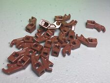 *NEW* 20x Lego Robot Mechanical Arm / Leg (Fingers Claws Droid) Reddish Brown
