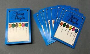 50 tarjetas de edición Trivial Pursuit jugadores jóvenes