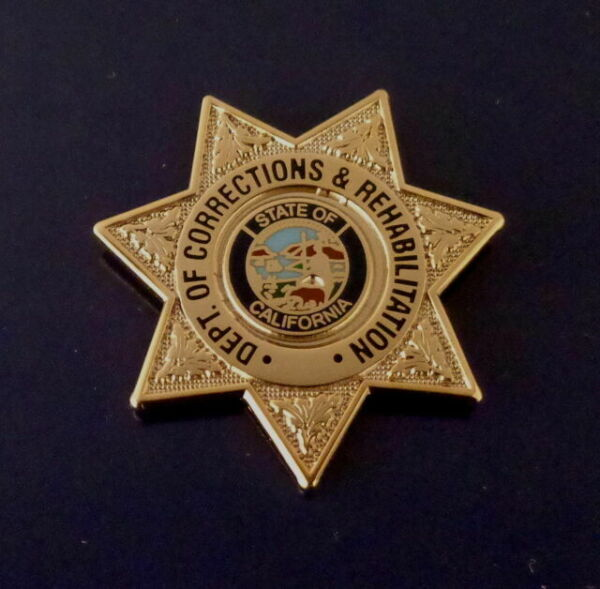 Police Mini Badge Lapel Pin California Department of CorrectionsPatch Pins @!@