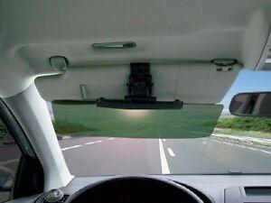 Clip on Car   Van Tinted Anti Dazzle Glare Shade Block Sun Visor ... 7b9f93f2333