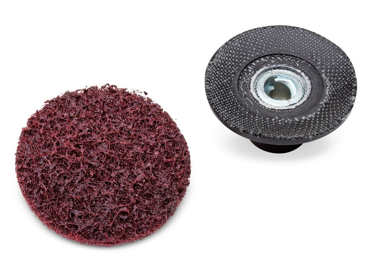 Eastwood 2 inch Replacement Conditioning Rollock Sanding Disc Surface Coarse Pre. Available Now for 14.99