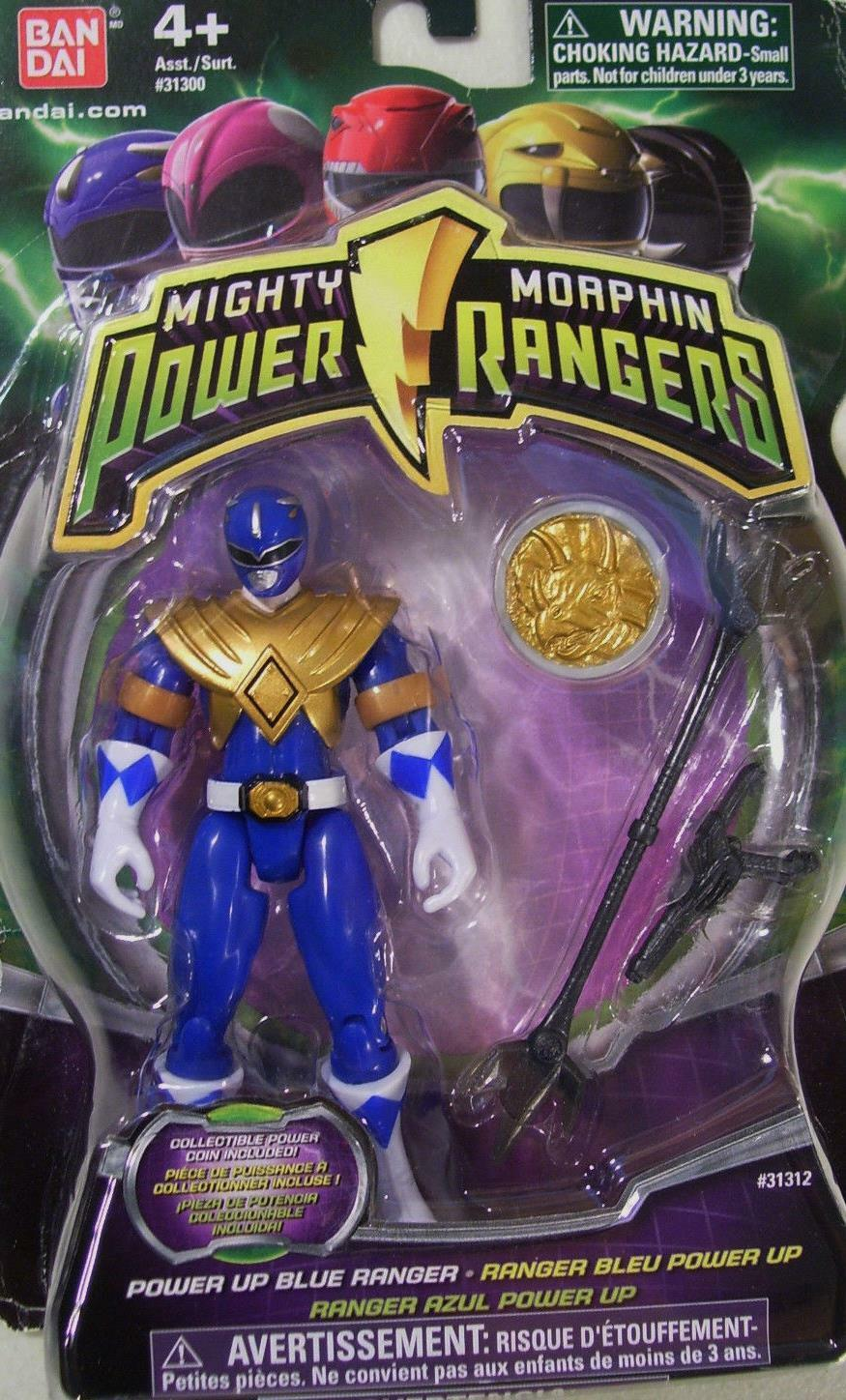 Mighty Morphin Power Rangers blu 4  Power Morpher Coin Nuovo Factory Sealed 2010