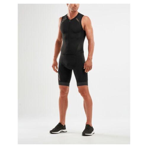 2021 2XU Men/'s Compression Full Zip Trisuit