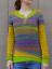 Mode-Femme-Pull-Chandails-Casual-Chaud-Loisir-Bande-Couture-Manche-Longue-Plus miniature 7