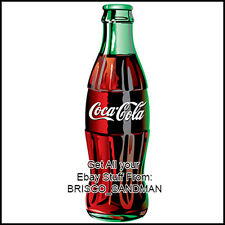 Fridge Fun Refrigerator Magnet COCA COLA Bottle - Version A - Specialty Die Cut